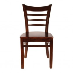 Cafe and restaurant dinner Chair Pure Solid Wood dark brown for sale in lahore