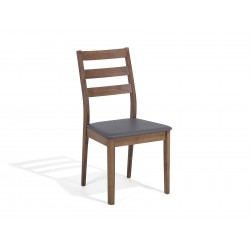 Cafe and restaurant dinner Chair Pure Solid Wood natural wood color for sale in lahore