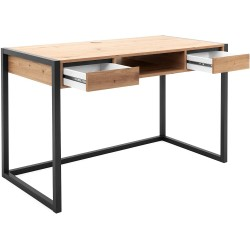 Designer Computer Table with Metal Frame and Beech Top price for sale in lahore