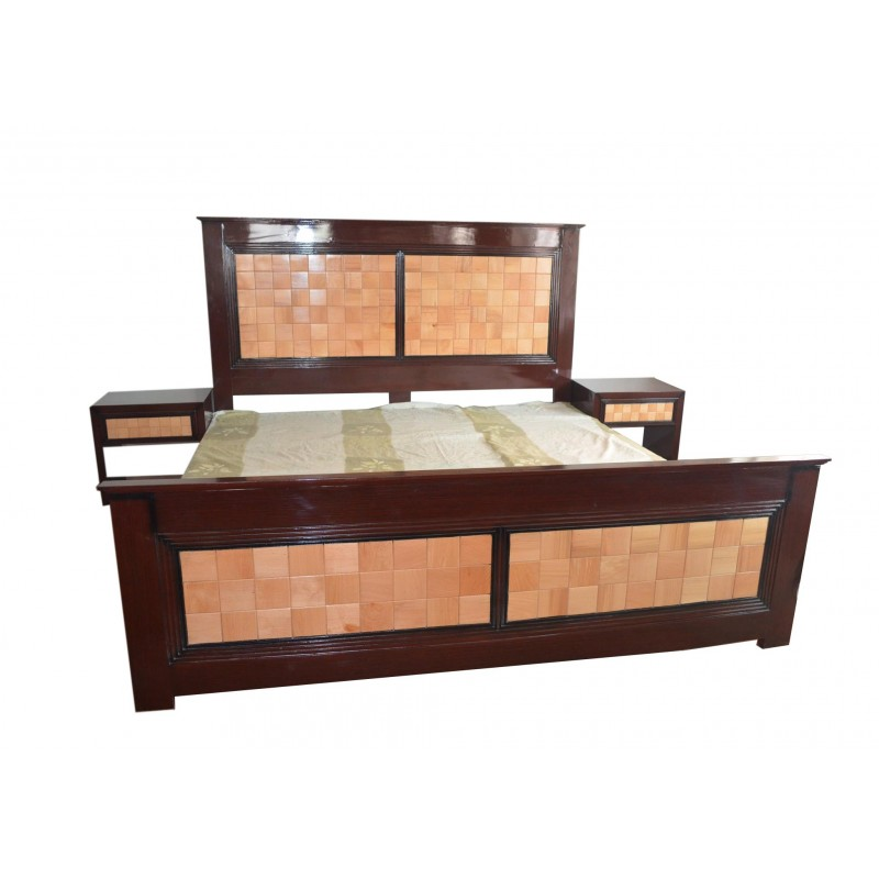 King Size Stylish Bed For Sale In Lahore