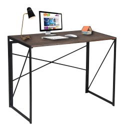 Folding ComputeFolding Computer Table with Metal Base and MDF Top buy online Lahore-Pakistan