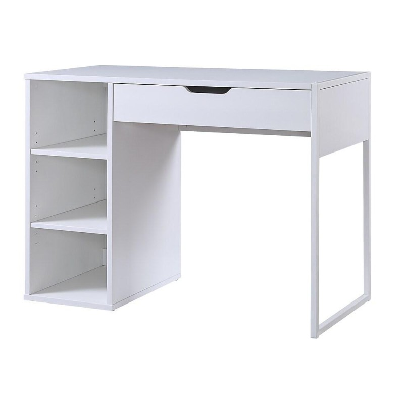 White Computer Table At A Reasonable Price