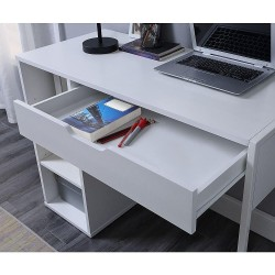 White Computer Table At A Reasonable Price Home Design Lahore