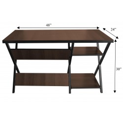 Portable Computer Study Table with Shelves buy online Lahore-Pakistan
