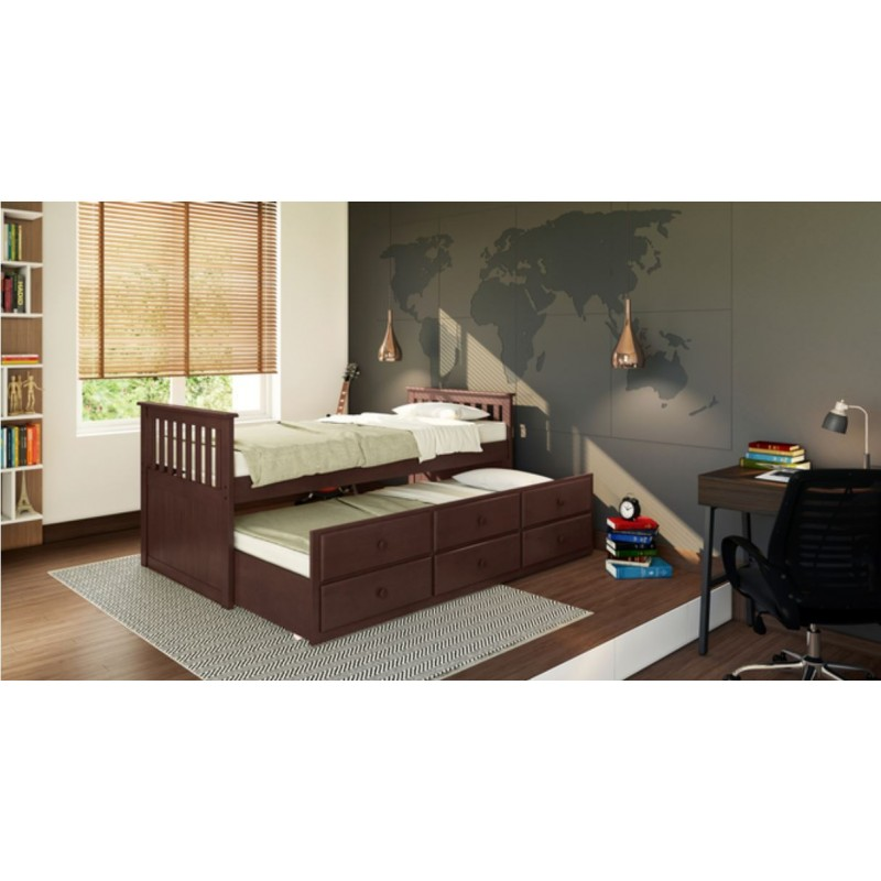 Single Bed With Trundle And Storage in lahore pakistan