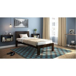 Dark Brown Single Bed buy online Lahore-Pakistan