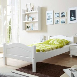 White Black Brown Single Bed buy online Lahore-Pakistan