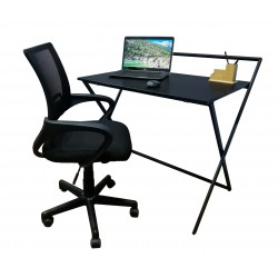 PRACTICAL COMPUTER STUDY HOME OFFICE TABLE (HD-OT-029)-Black
