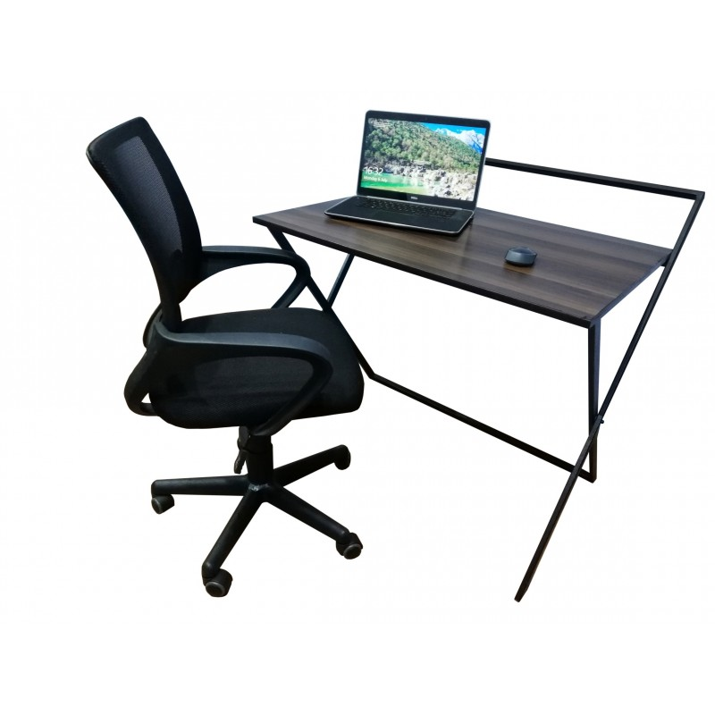 PRACTICAL COMPUTER STUDY HOME OFFICE TABLE (HD-OT-029)-Brown