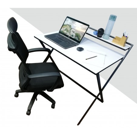 Smart Folding Computer Table (HD-OT-022) Brown