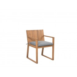 Cafe and restaurant dinner Chair Pure Solid Wood natural wood color with arms for sale in lahore