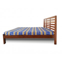 King size Bed Pure Solid Wood for sale in Lahore