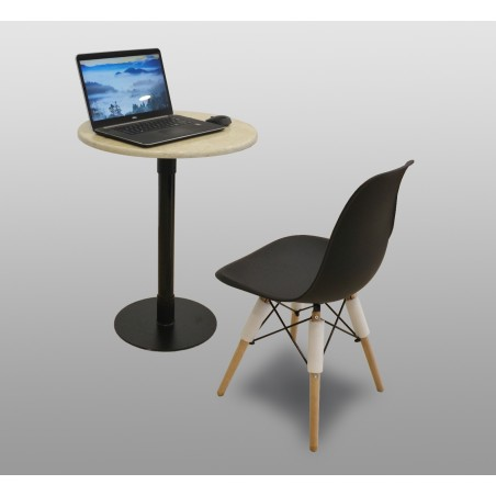 Laptop Coffee Table & Chair Marble top pedestal table for sale in lahore