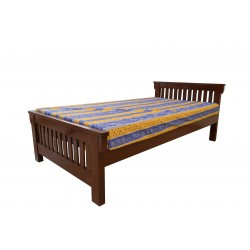Pure Wood Single Bed Modern...