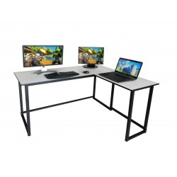 L Shape Gaming Desk price in Pakistan Low cost cheap good quality l shape desk