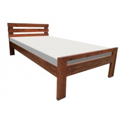 Spanish style single bed design with good price pure solid wood for sale in Lahore Pakistan
