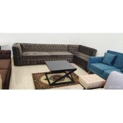 Villanueva L Shaped Corner Sofa designs with price Lahore