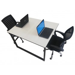 Two 2 Persons Office work station  computer table for sale in Lahore price with images