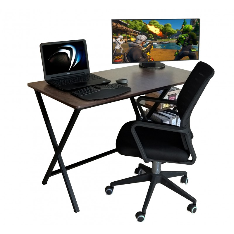 office furniture Lahore computer tables with cpu and book shelf