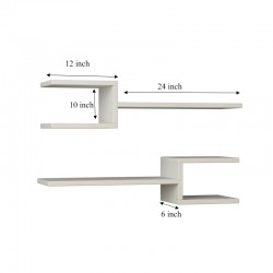 Isasa Floating Wall Shelf buy online Lahore-Pakistan