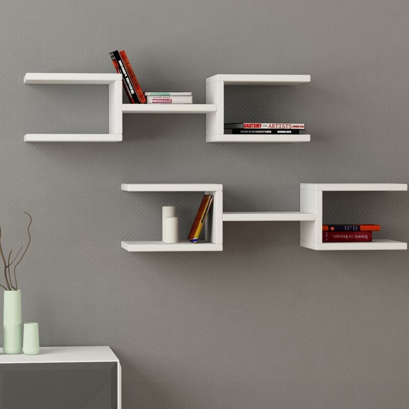 wooden wall mounted floating shelves living room white designs with prices lahore pakistan