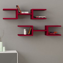 wooden wall mounted floating shelves living room red designs with prices lahore pakistan
