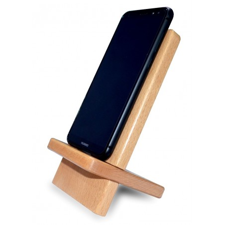 Mobile Phone Stand - Pure Solid Wood buy online Lahore-Pakistan