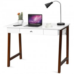 Computer Table Solid Wood Frame MDF Top buy online Lahore-Pakistan
