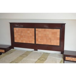 King size Bed Wood + MDF buy online Lahore-Pakistan