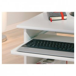 Movable Computer Table with Shelves and Wheels buy online Lahore-Pakistan