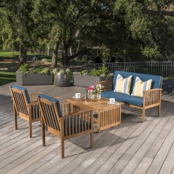 Safira Patio Outdoor Table & Easy Chairs buy online Lahore-Pakistan