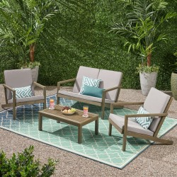 Emme Patio Outdoor Table & Easy Chairs buy online Lahore-Pakistan