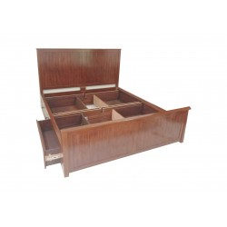 king size storage  bed design with price in lahore pakistan