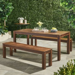 Manila Patio Outdoor Table & Bench buy online Lahore-Pakistan