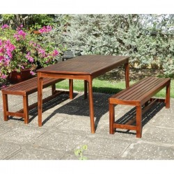 Carvan Patio Outdoor Table & Bench buy online Lahore-Pakistan