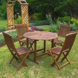 Folding Outdoor Table &...