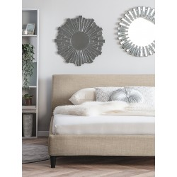 king size cushioned bed design with price in lahore pakistan