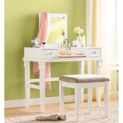 Kilmarnock Makeup Table Vanity Dresser buy online Lahore-Pakistan