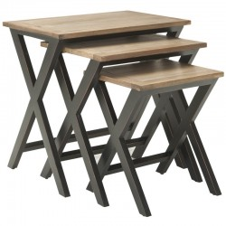 Joanna Solid Wood Nesting Tables buy online Lahore-Pakistan