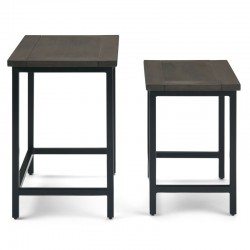 Studebaker 2 Piece Nesting Tables buy online Lahore-Pakistan