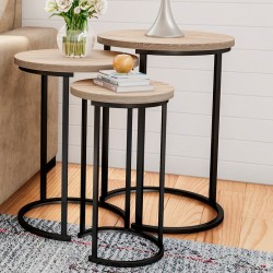 Caire 3 Piece Frame Nesting Tables buy online Lahore-Pakistan