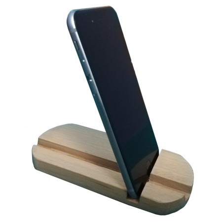 Mobile Phone Holder / Stand Pure Wood buy online Lahore-Pakistan