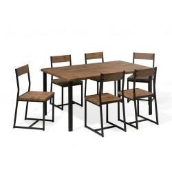 REDOLA 6 Seater Dining Set buy online Lahore-Pakistan