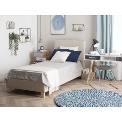 single cushioned bed design with price in lahore pakistan